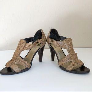 Worthington Snakeskin Sandals 8M